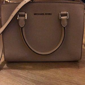 MK purse Selma Nude